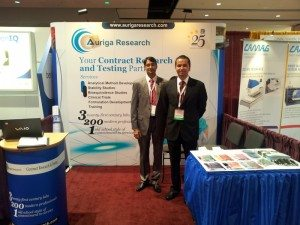Auriga Research exhibited at AAPS Chicago 2012