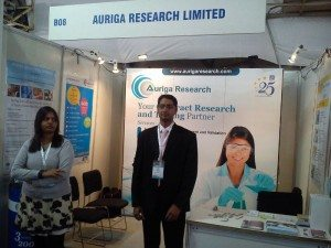 Auriga Research Limited showcases Food testing services at Food Hospitality World -2013, Bengaluru