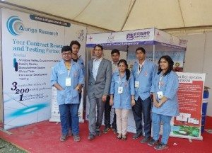 Arbro put up 'Mobile Food Tesing Lab' at Auto Expo '2014