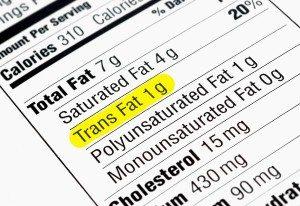 Nutritional Information - Trans Fat
