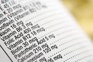 Nutritional Testing & Analysis - Vitamins