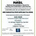 NABL Accreditation for Chemical testing